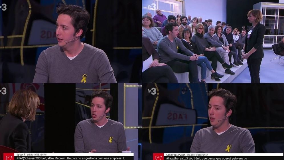 Foto: Francisco Nicolás Gómez Iglesias, en 'Preguntes freqüents'. (TV3)