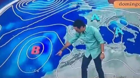 Tierra, trágame: el hombre del tiempo de TVE expulsa a Canarias de España