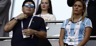 Post de El nuevo escándalo de Maradona: su prometida rompe con él y le echa de casa