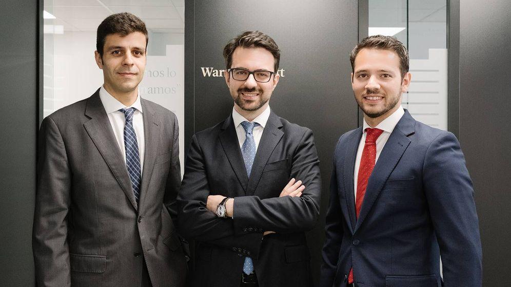 Foto: Miguel Rodríguez, Javier Ruiz y Alejandro Martín, equipo gestor de Horos AM