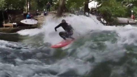 Quién dice que no se puede surfear en un río