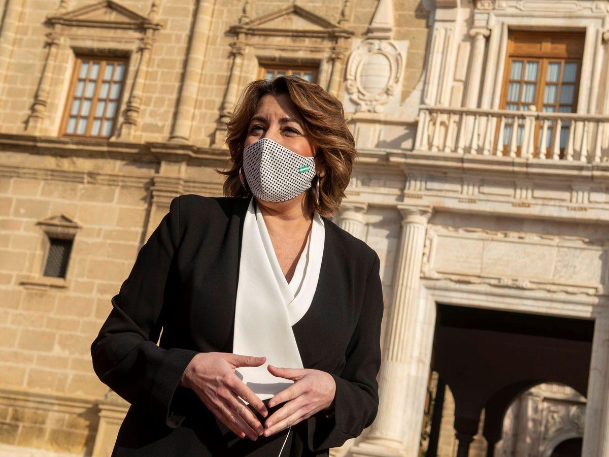 Foto: La presidenta del PSOE-A, Susana Díaz. (EFE)