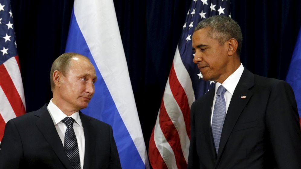 Foto: Barack Obama & Vladimir Putin - New York. REUTERS / Kevin Lamarque