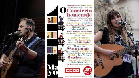 Rozalén, Ismael Serrano... dos conciertos por el Día del Trabajo desde las redes sociales
