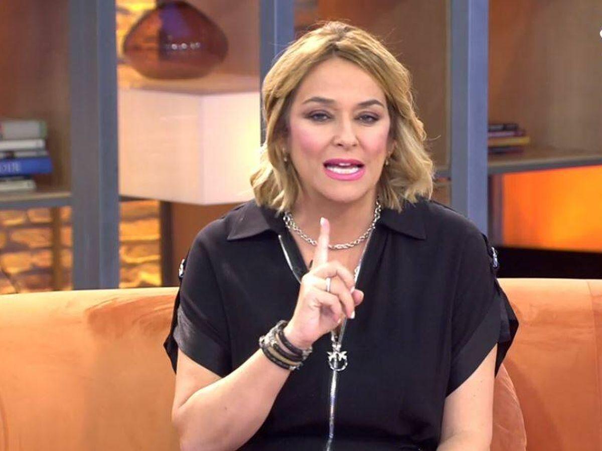 Foto: Toñi Moreno, presentadora de 'Viva la vida'. (Mediaset España)