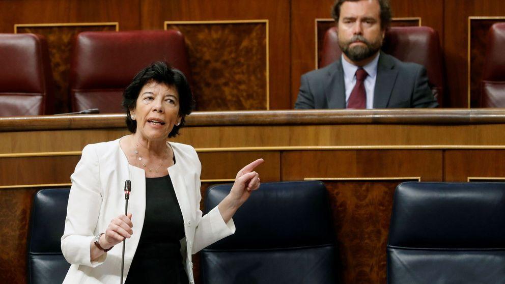 La ley Celaá pasa el primer examen en el Congreso frente al rechazo de PP, Vox y Cs