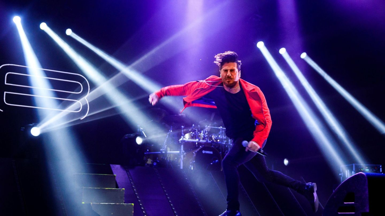 En un concierto de su última gira. (EFE)