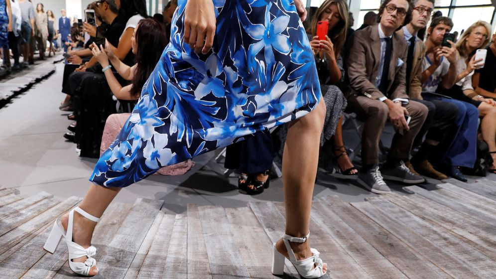 Foto: Model kendall jenner presents creations from the michael kors spring summer 2018 collection during new york fashion week in new york
