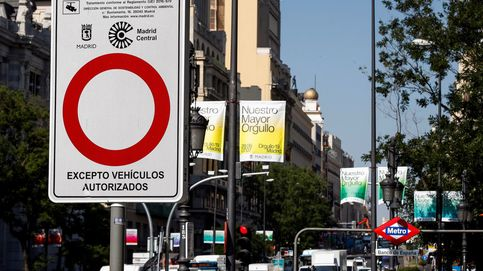 El juez confirma la suspensión de la moratoria de multas de Madrid Central