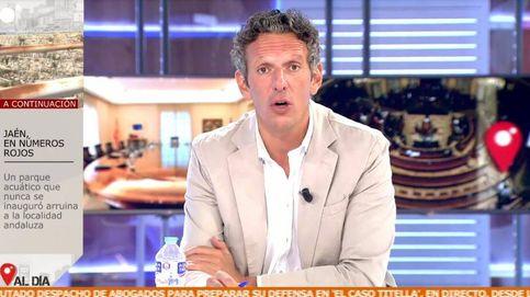 ¿Va a venir a tocarme las narices?: Joaquín Prat brota contra Alberto Garzón
