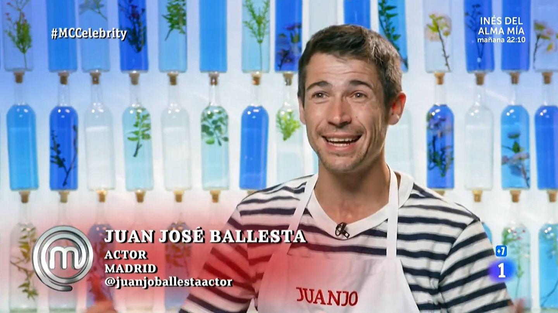 Juan José Ballesta, en 'Masterchef Celebrity'. (TVE)
