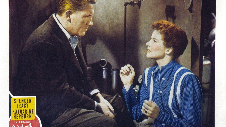 Cartel promocional de 'Sin amor', una de sus películas con Tracy. (Cordon)