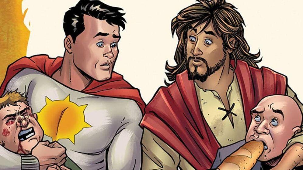 Foto: Jesucristo era el protagonista de 'La Segunda Venida' (DC COMICS)