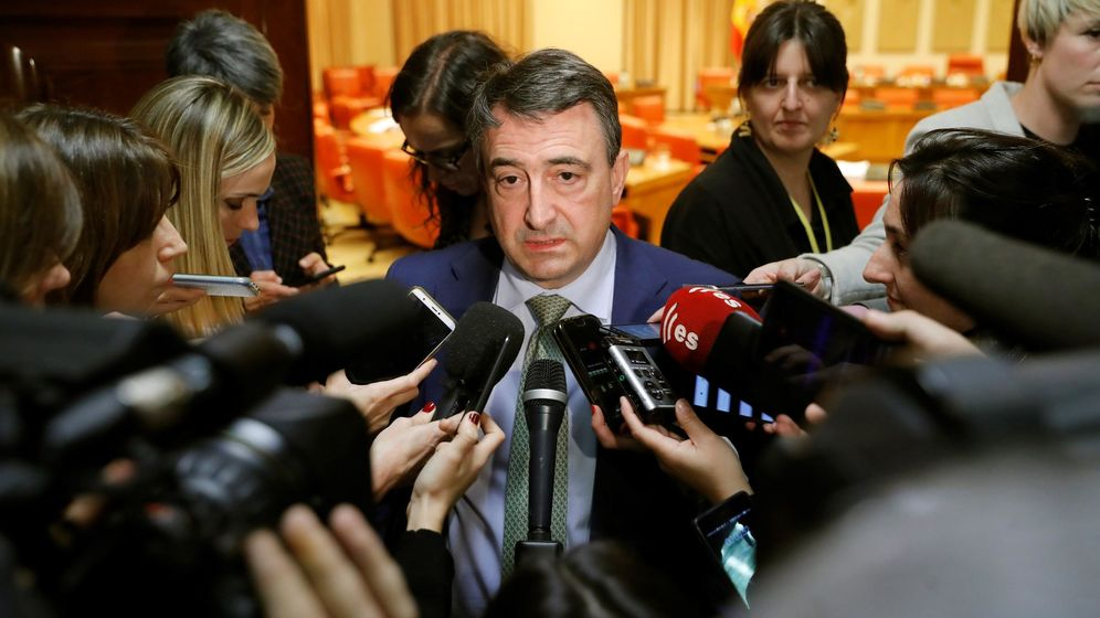 Foto: Aitor Esteban, del PNV, en el Congreso. (EFE)