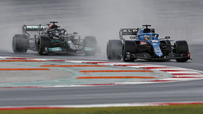 Para Alonso, la clasificatoria del GP de Rusia ha sido la mejor de la temporada. (EFE)