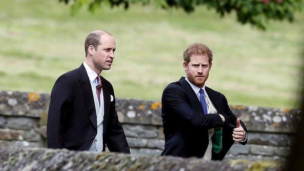 Guillermo y Harry evitan cualquier tipo de contacto en la misa de Pascua