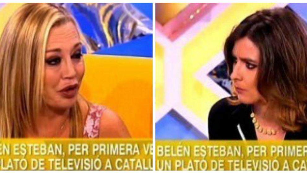 Belén Esteban, en la TV de Cataluña: Roban los ladrones, no los españoles