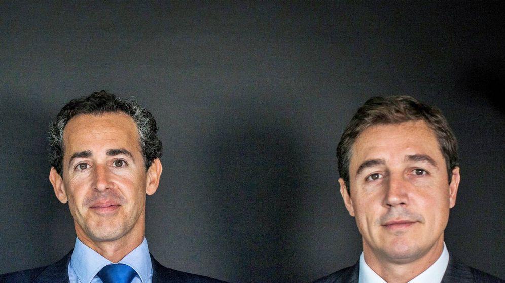 Foto: Álvaro Guzmán de Lázaro y Fernando Bernad, gestores de azValor.