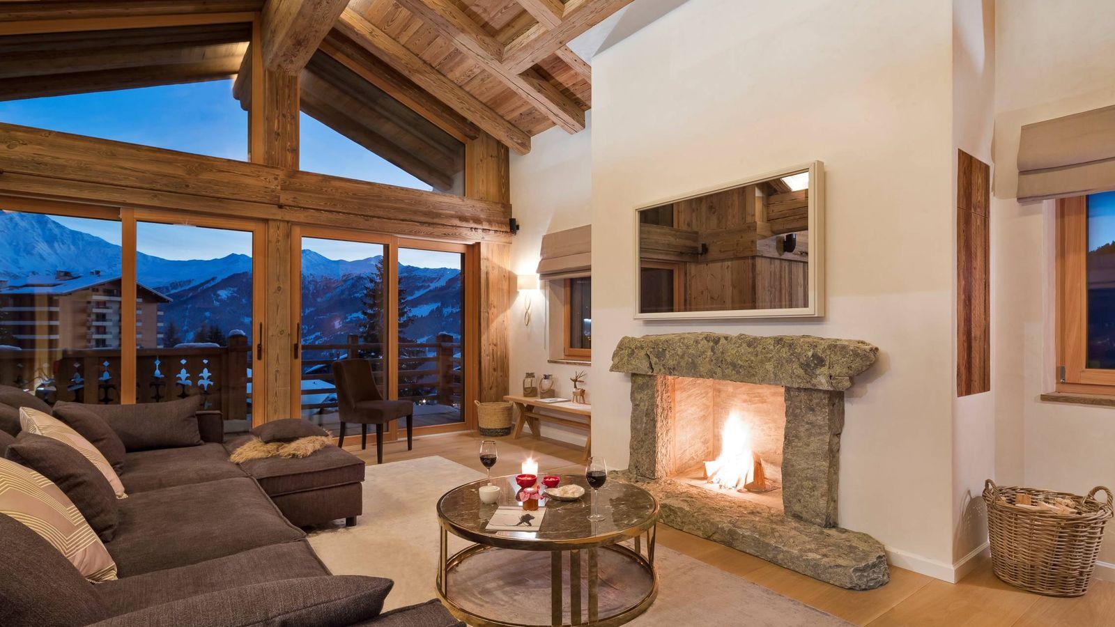 Foto: En el hotel Cordée des Alpes, en Suiza, amarás el invierno sobre todas las cosas.