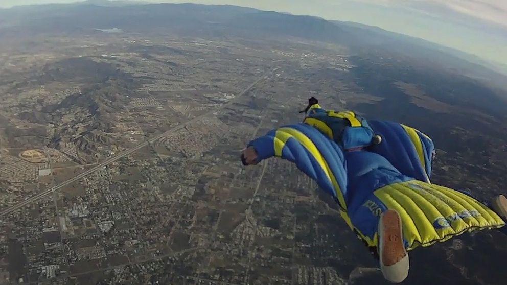 La muerte de otro 'hombre pájaro' pone en el punto de mira el 'Wingsuit'