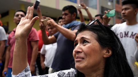 Un país paralizado: así son las marchas en Ecuador