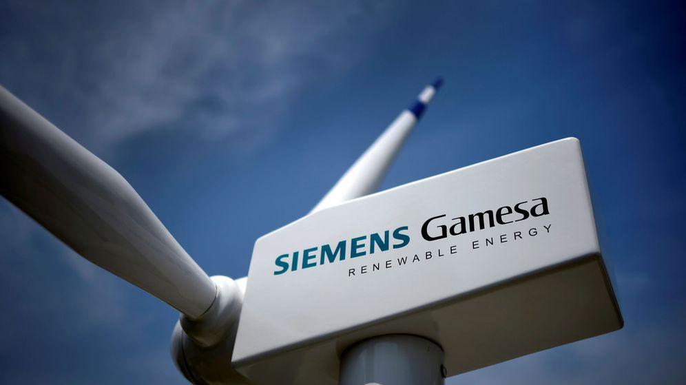 Foto: Molino de viento Siemens Gamesa. (Reuters)