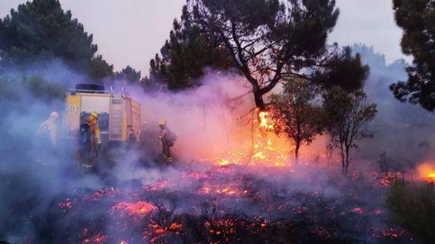 Sevilla, Huelva, León, Asturias... noche de incendios forestales en toda España