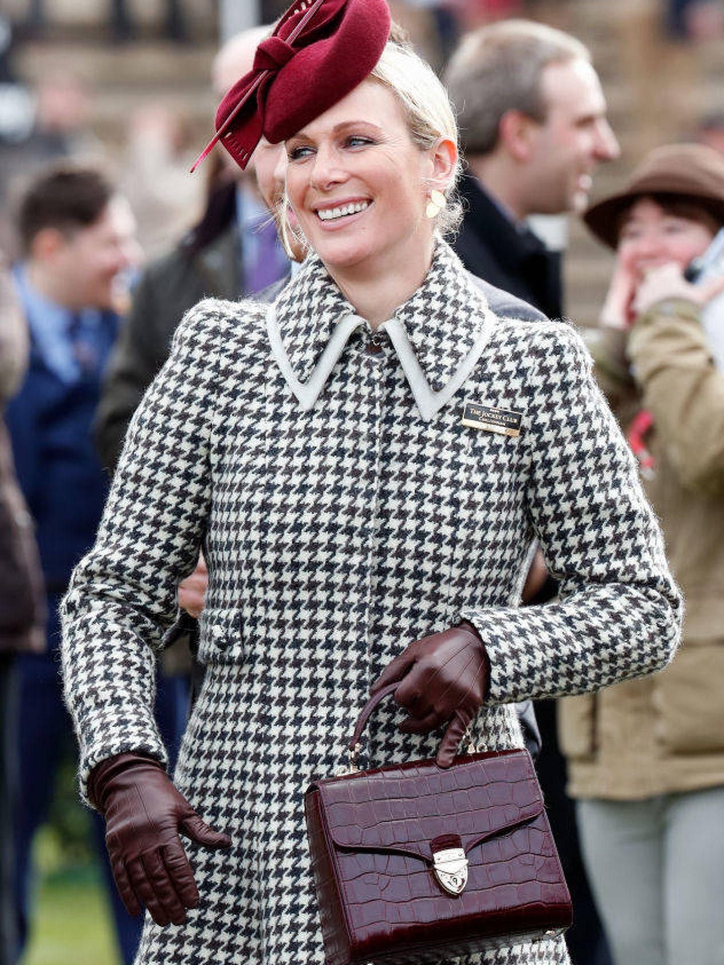 Zara Phillips, con uno de sus últimos y aplaudidos looks. (Getty)