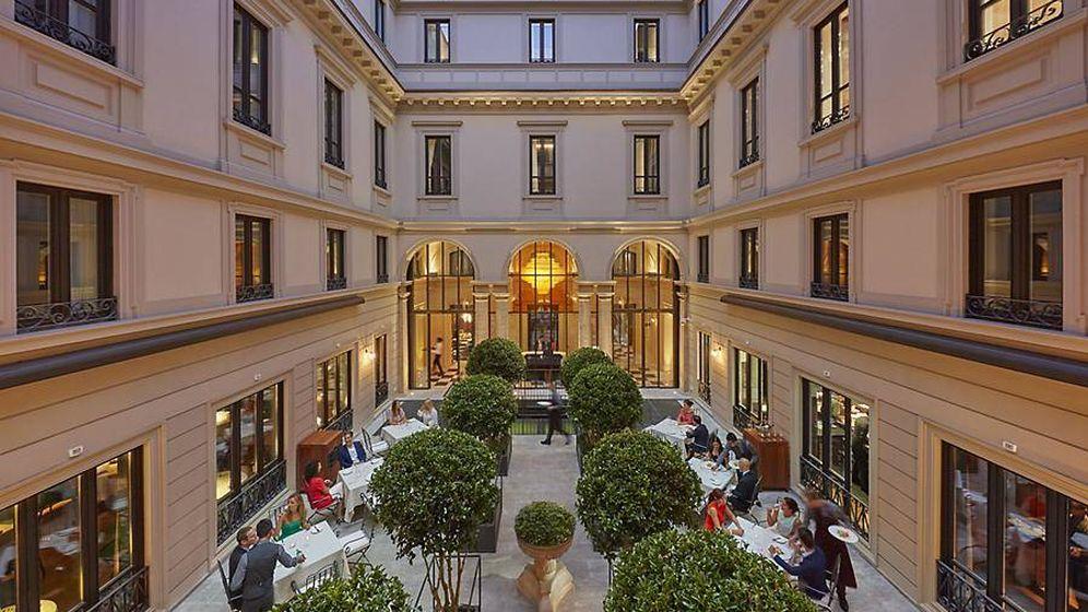Foto: Cenar en Milán.