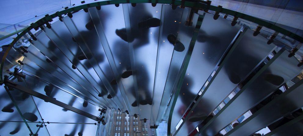 Foto: Interior de la Apple Store de Nueva York (Reuters)