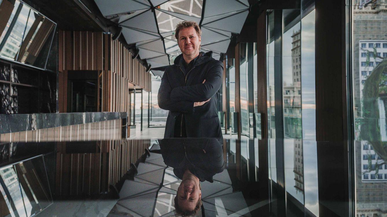 Foto: Diego Gronda, en el VP Plaza España Design, en Madrid. (Foto: José Salto)