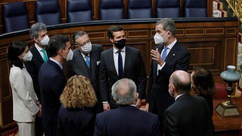 El Gobierno aúpa a Casado como líder de la oposición en plena renovación institucional