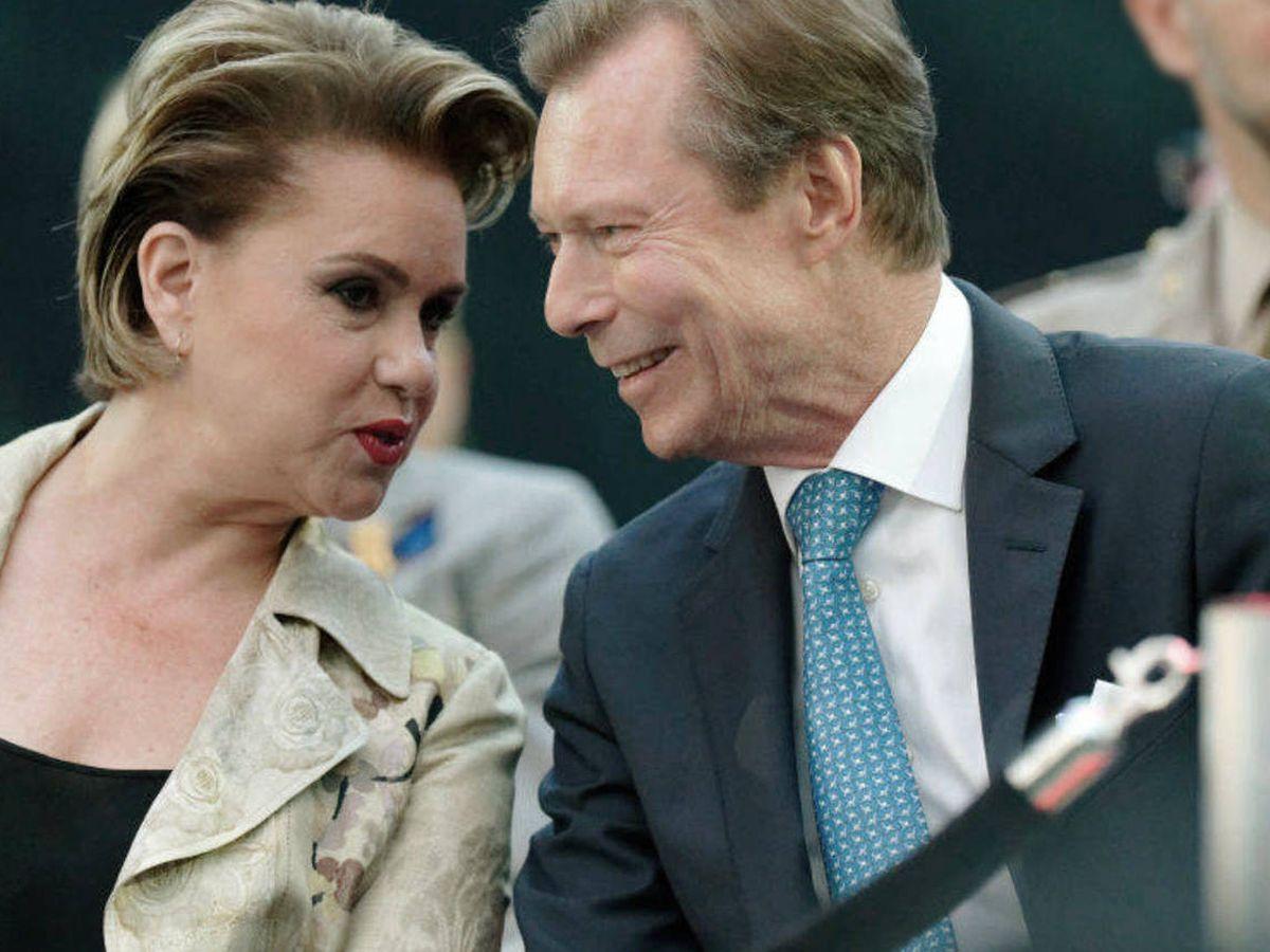 Foto: Enrique y María Teresa de Luxemburgo. (Getty)