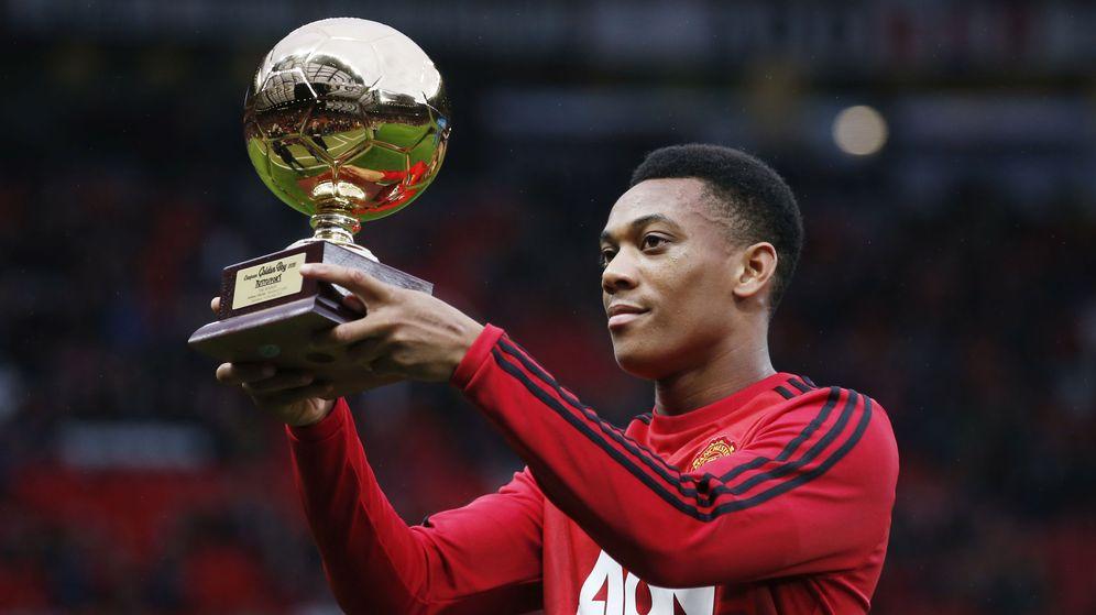 Foto: Anthony Martial ganó el trofeo Golden Boy 2015 (Reuters).