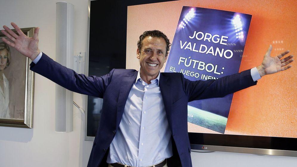 Foto: Jorge Valdano, exjugador y exentrenador del Real Madrid, entre otros equipos (Ángel Díaz/EFE)