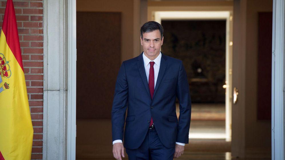 Foto: Pedro Sánchez en una imagen del pasado miércoles. (EFE)