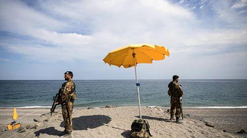 Medidas de seguridad ante el G-7 en Italia
