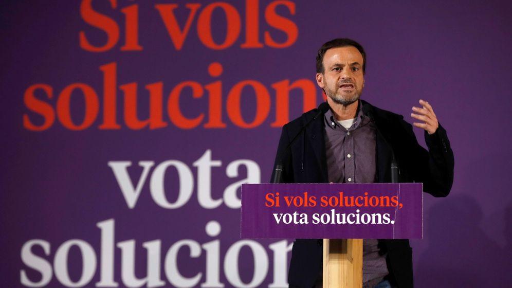 Foto: El cabeza de lista de En Comú Podem al Congreso, Jaume Asens. (EFE)