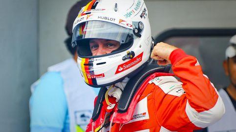 Ferrari da el 'campanazo' con Vettel, 'pole' de Hamilton y al final Alonso