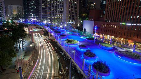 La gigantesca autopista abandonada transformada en parque en Seúl
