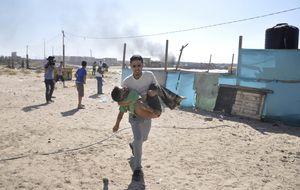 Un día en Gaza: ataque contra niños