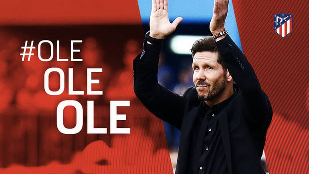 Simeone renueva con el Atlético de Madrid