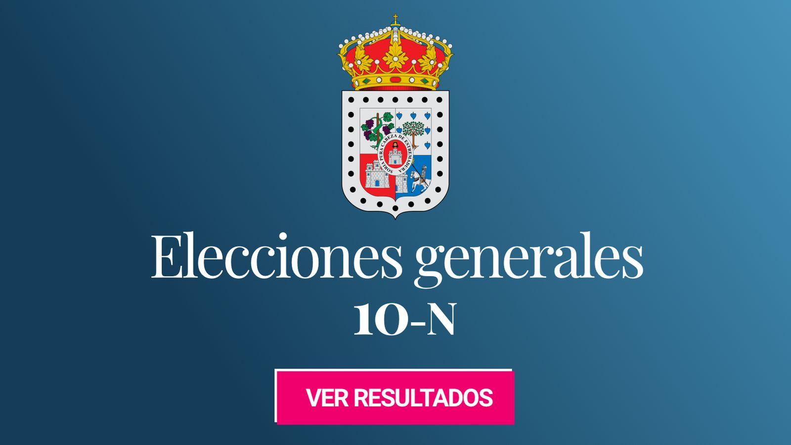 Foto: Elecciones generales 2019 en la provincia de Soria. (C.C./Dgarcia29)