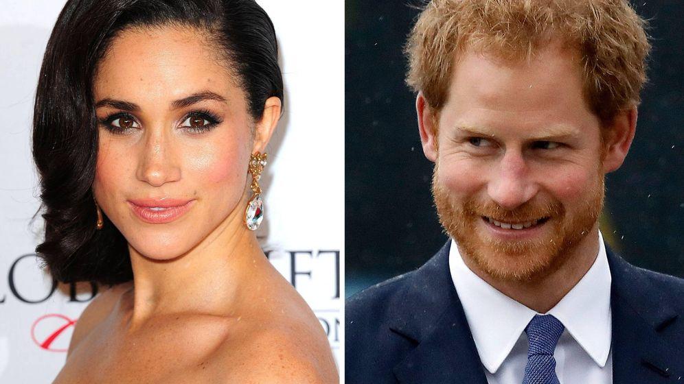 Foto: El príncipe Harry y Meghan Markle