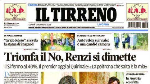 Las portadas de los diarios europeos tras el referéndum de Italia