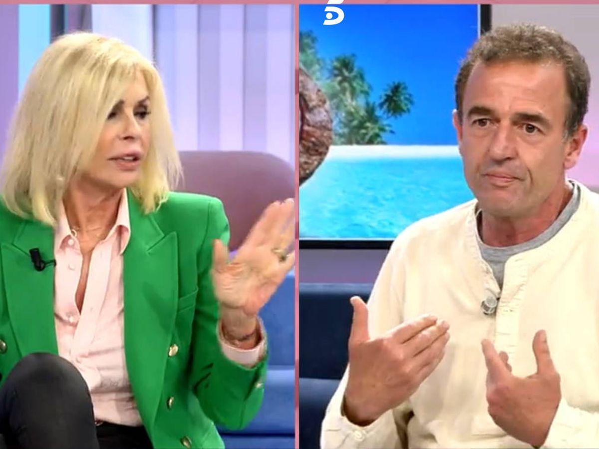 Foto: Bibiana y Lequio, en 'El programa de AR'. (Telecinco)