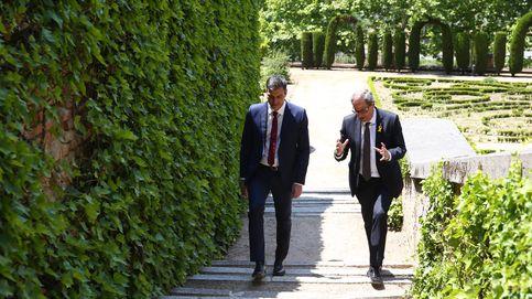 Sánchez enfría el conflicto catalán pero choca con Torra por la autodeterminación