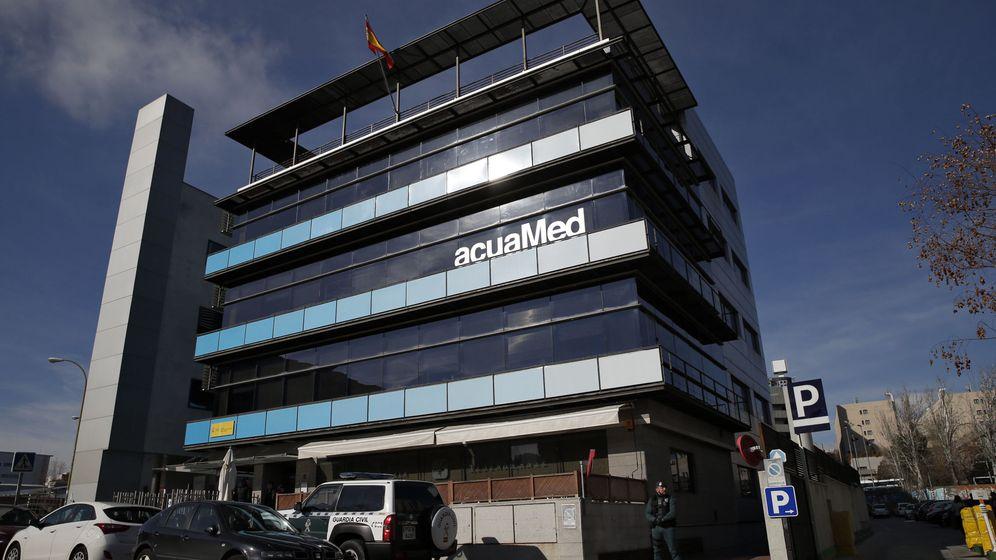 Foto: Fachada de la sede de Acuamed en Madrid. (Reuters)