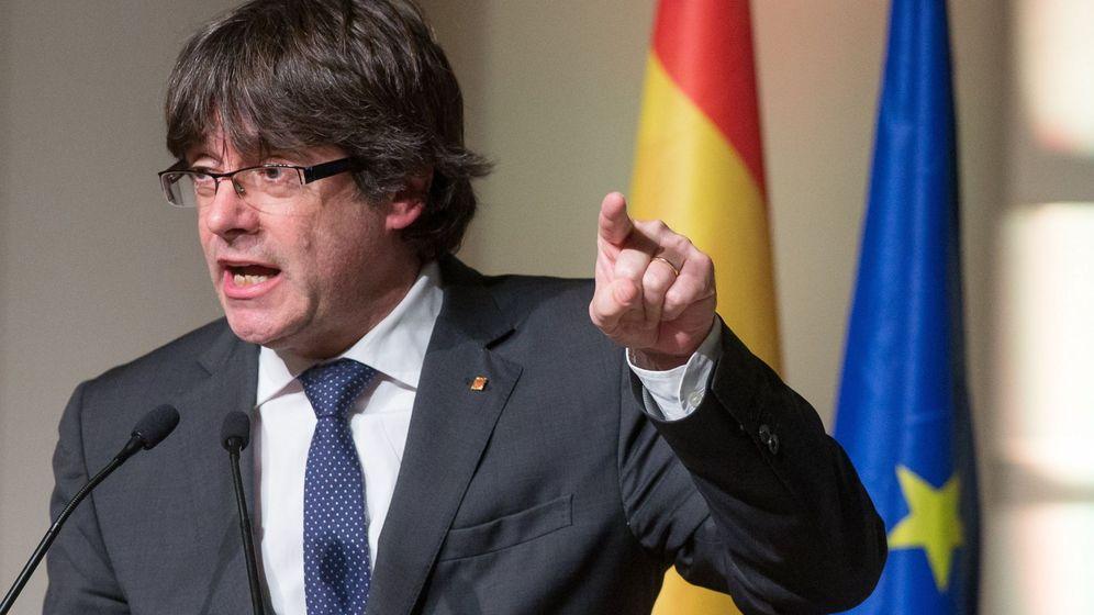 Foto: El expresidente de la Generalitat catalana Carles Puigdemont. (EFE)