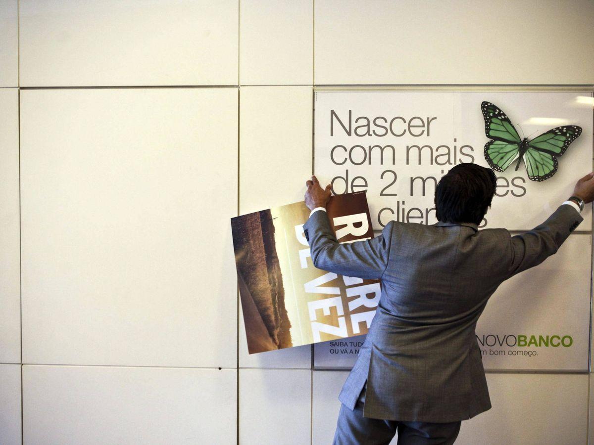 Foto: Sucursal de Novo Banco en Portugal. (Reuters)